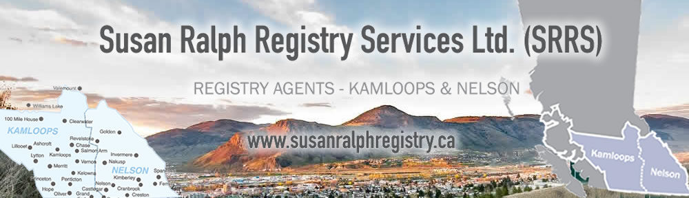 Susan Ralph Registry Services Ltd.