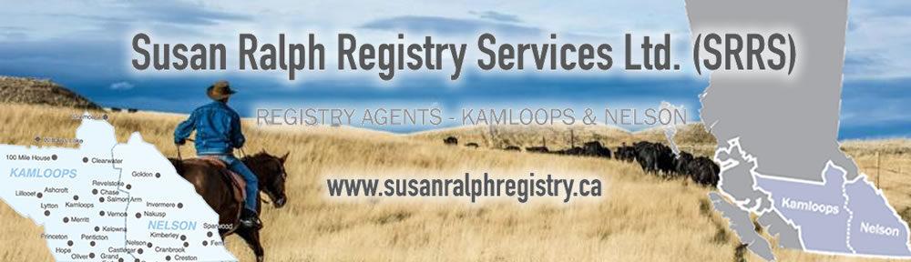 Susan Ralph Registry Services Ltd.